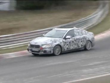 Futuro BMW Serie 1 Sedán cazado en Nurburbring