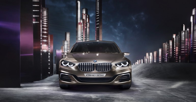BMW presenta en China el Concept Compact Sedan