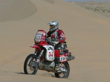 José María García a por su tercer Dakar con BMW