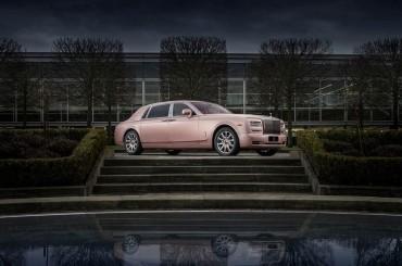 Rolls-Royce Sunrise Phantom Extended Wheelbase – Lujo inglés