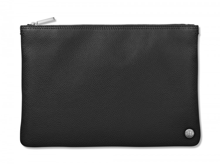 BMW Iconic Pocket Unisex Leather Pouch