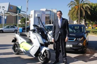 BMW inaugura el primer punto de recarga rápida en Barcelona