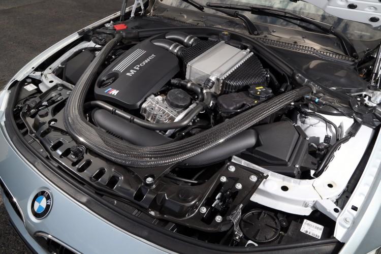 Motor BMW M3 F80 del 2014