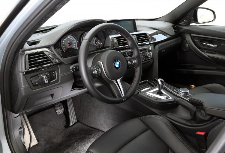 Interior BMW M3 F80 del 2014