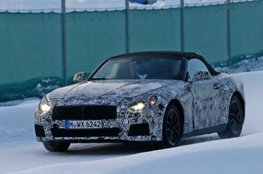 El BMW Z5 cazado en Suecia