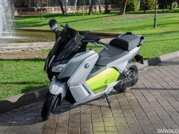 Probamos el BMW C Evolution