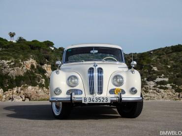 BMW 502 de 1963 – El Ángel Barroco