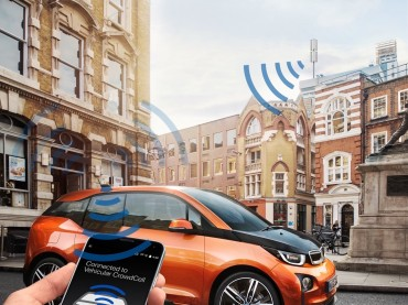BMW presenta la tecnología Vehicular CrowdCell en el Mobile World Congress 2016 de Barcelona