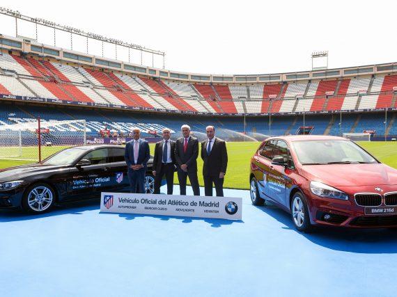 Nuevo vehículo oficial del Atlético de Madrid