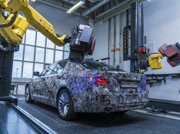 Escaneando el Nuevo BMW Serie 5