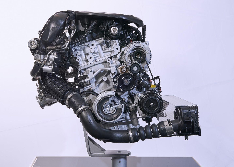 BMW TwinPower Turbo 3-cilibros Motor Diésel