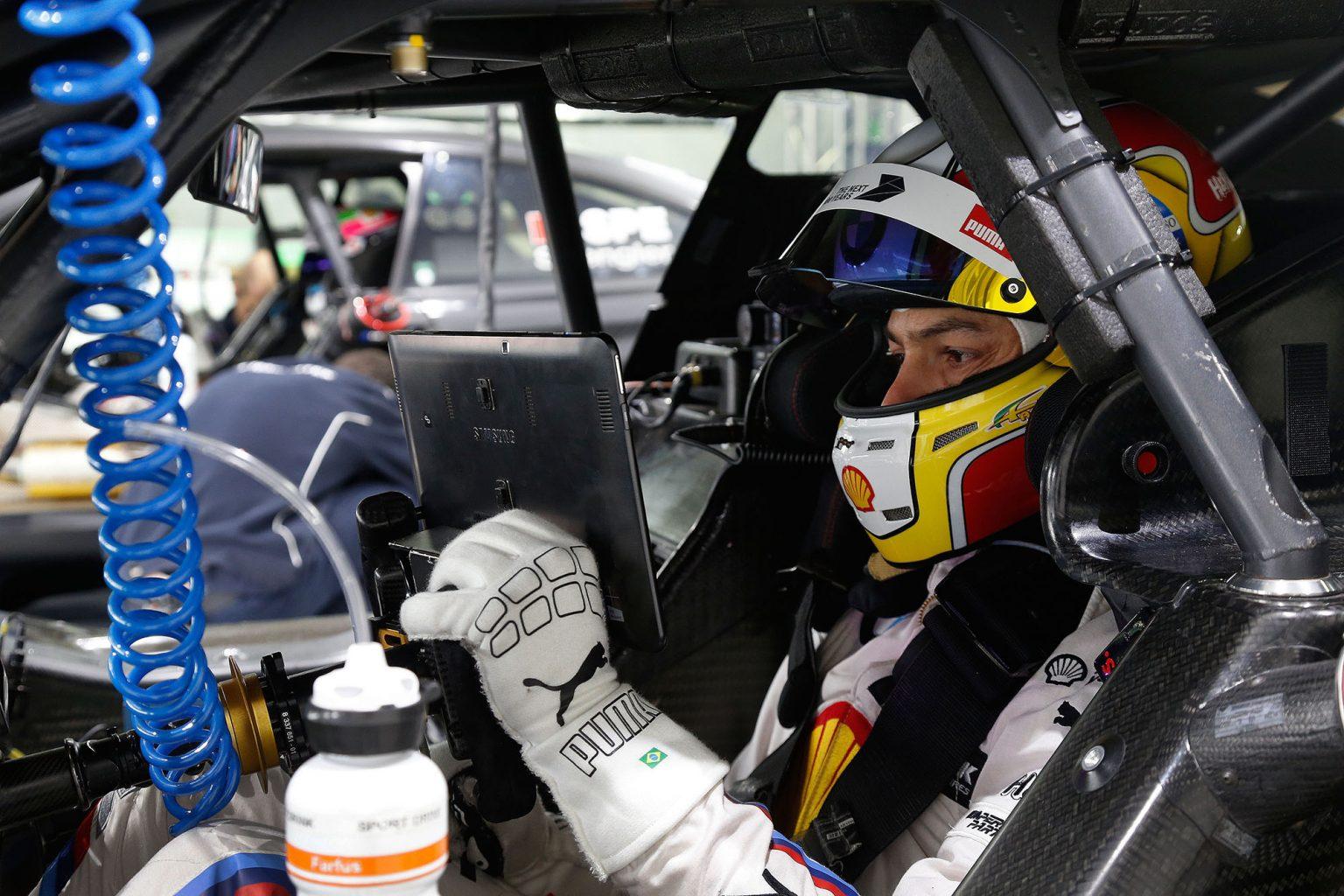 Hockenheim (DE) 07th April 2016. BMW Motorsport, ITR DTM Testing, Augusto Farfus (BR) BMW Works Driver.
