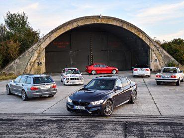 Los cuatro inéditos prototipos BMW M3