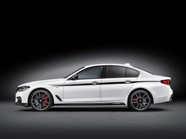 Potenciar el nuevo BMW Serie 5 Berlina con accesorios BMW M Performance