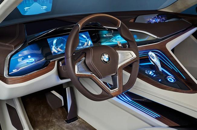 El diseño interior beberá de las propuestas del BMW Vision Future Luxury Concept