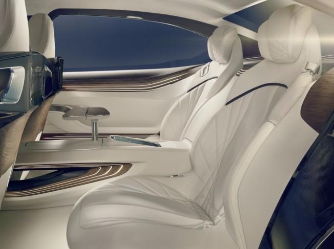 Plazas traseras individuales presentadas con el BMW Vision Future Luxury Concept