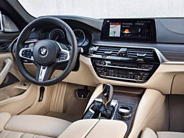 El increíble interior del BMW Serie 5