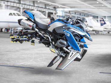 La moto voladora de LEGO y BMW