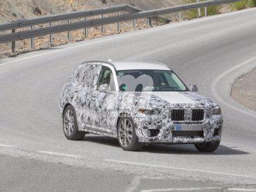 Espiando el prototipo del BMW X3 M40i