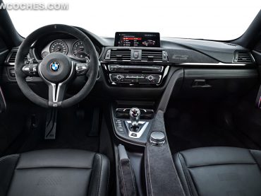 BMW M4 CS. Un interior de lujo