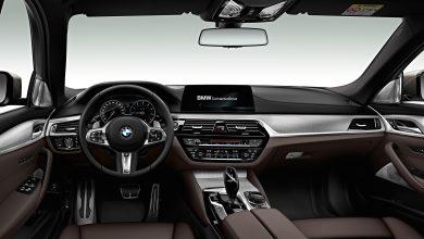 El interior del nuevo BMW M550d xDrive