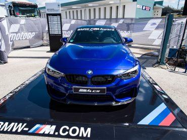Nuevo BMW M4 CS: Premio para el mejor piloto de MotoGP™