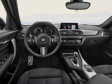 Interior del nuevo BMW Serie 1