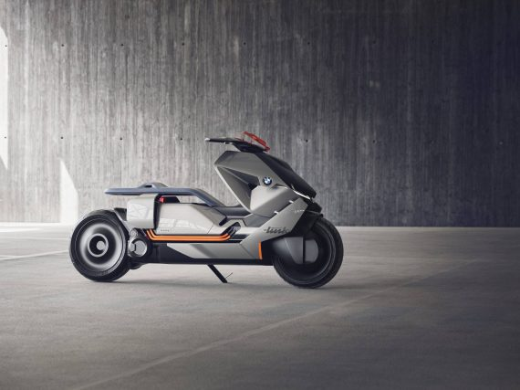 BMW Motorrad Concept Link. La moto del futuro