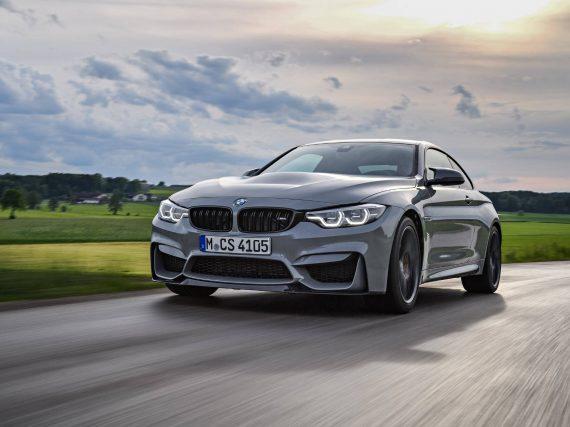 BMW M4 CS en Lime Rock Grey Metallic