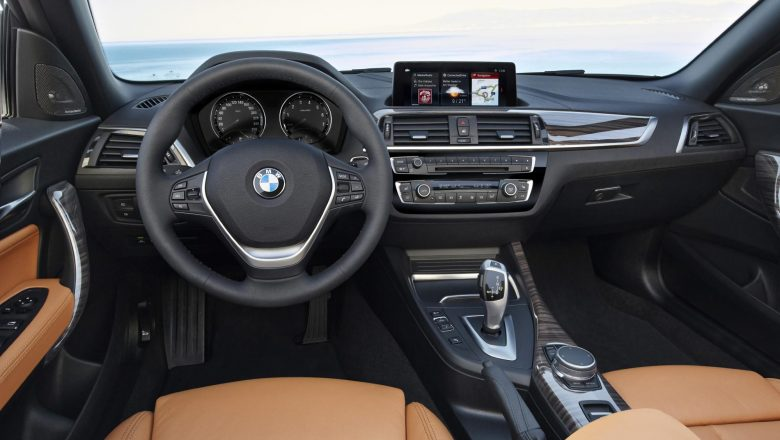 Interiores del Nuevo BMW Serie 2 Coupé y Cabrio