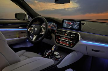 Espectacular interior del BMW Serie 6 GT