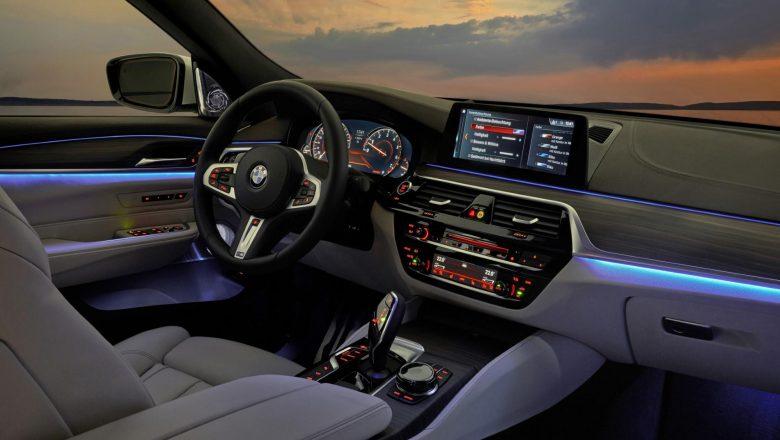Espectacular interior del BMW Serie 6 GT