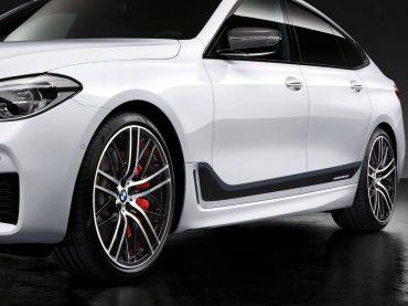Accesorios BMW M Performance para el nuevo BMW Serie 6 GT