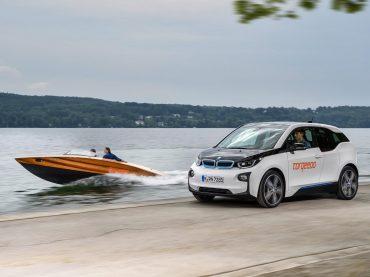 BMW i con las fuerabordas Torqeedo