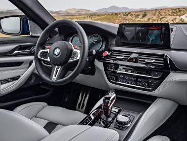 Interior del nuevo BMW M5