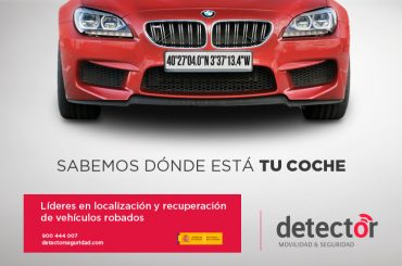 Recupera tu coche robado con Detector