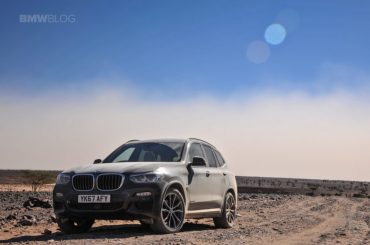 BMW X3 por el desierto del Sáhara