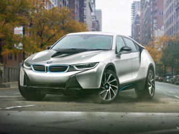 Render del BMW i8 SUV