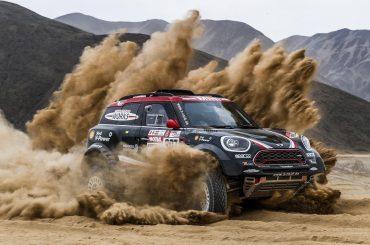 La familia MINI lista para el Dakar 2018