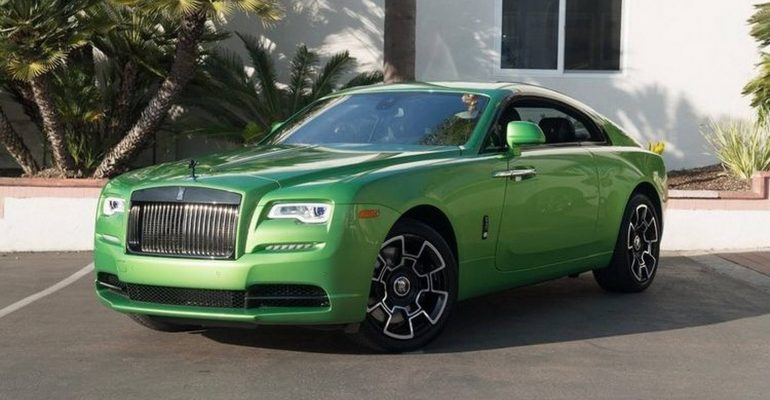 Rolls-Royce Wraith en verde java