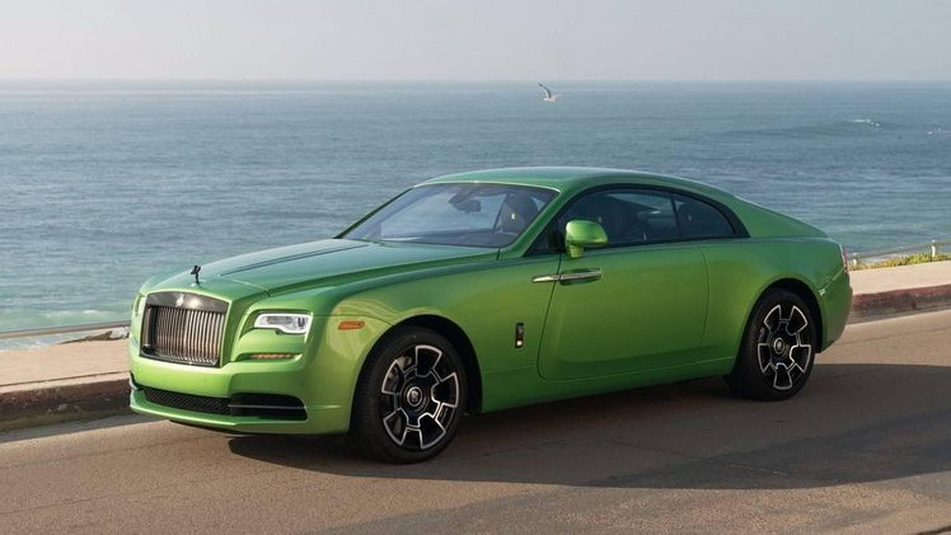 Rolls Royce Wraith En Verde Java Bmw Blog