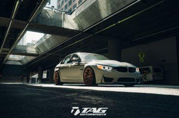BMW M3 con llantas HRE R101 LW