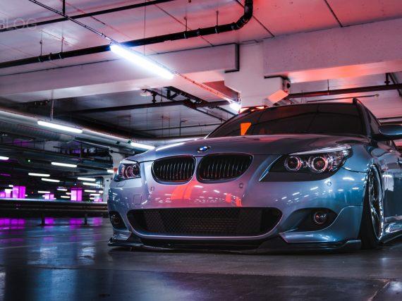 ¿Es posible ser más bajo? Mira este BMW E61 530d