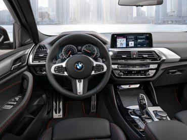 El interior del nuevo BMW X4
