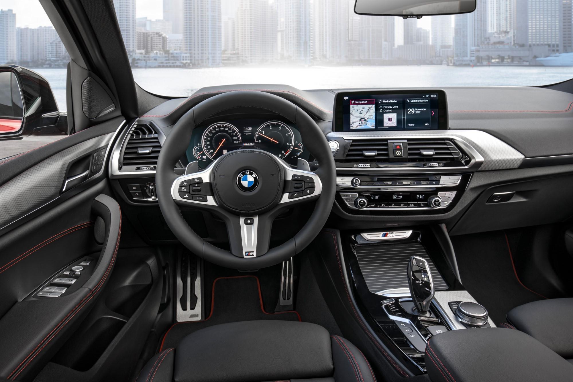 Resultado de imagen de BMW X4 interior