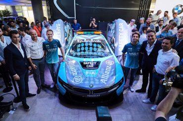 Presentación del Safety Car BMW i8