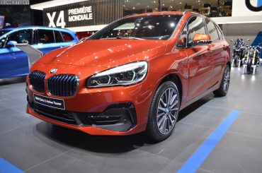 BMW Serie 2 Active Tourer en naranja Sunset