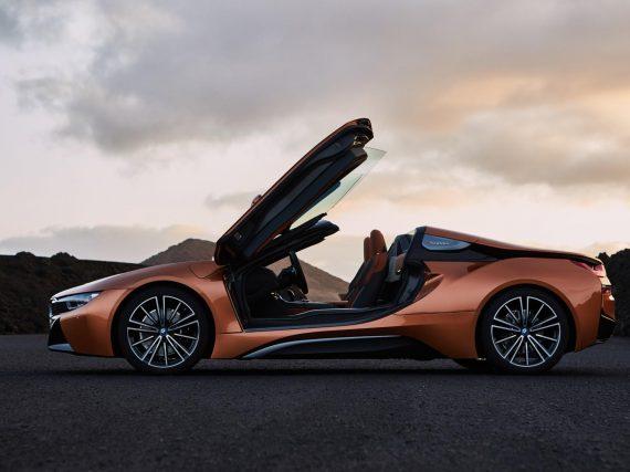 El BMW i8 Roadster ya en producción