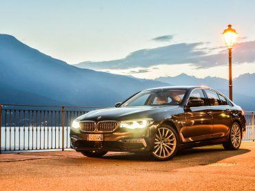 Por Italia con el BMW Serie 5