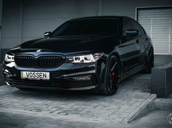 Un elegante tuneo al nuevo BMW Serie 5